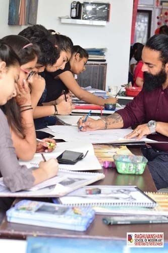 Raghuvansham art and craft school in paschim vihar